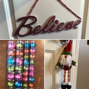 Christmas Decor - Excellent Condition!!
